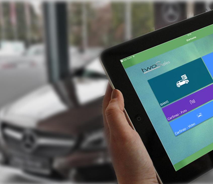Produkterweiterungen carmazoon24, PIA.media, CarSnap App